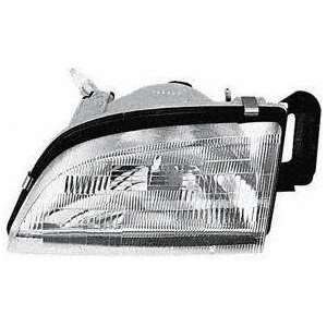 89 94 GEO METRO HEADLIGHT LH (DRIVER SIDE), Composite Type
