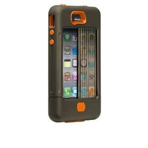 BRAND NEW IN BOX Case Mate iPhone 4 4S Tank Case Orange/Green SAME DAY
