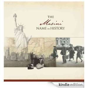 The Masini Name in History: Ancestry  Kindle Store