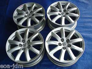 06 LEXUS LS460 WHEEL RIM 18 OEM FACTORY SILVER ALLOY WHEELS RIMS