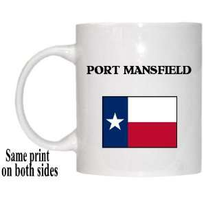 US State Flag   PORT MANSFIELD, Texas (TX) Mug