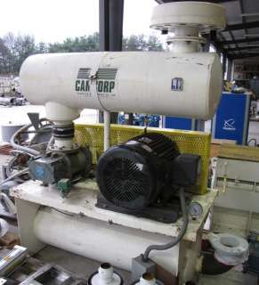 60 HP ROOTS ROTARY LOBE BLOWER 412 RAM PACKAGE USED
