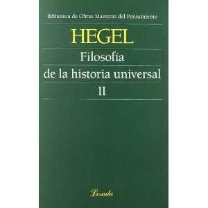 HISTORIA UNIVERSAL II 102 Losada (9789500397483) HEGEL Books