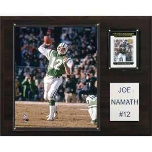 NFL Joe Namath New York Jets Player Plaque Sports
