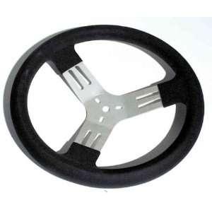 Longacre 13 Kart Steering Wheel   Black   56830