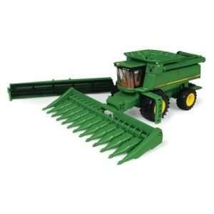 John Deere 9860STS Toy Combine with Corn & Grain Heads