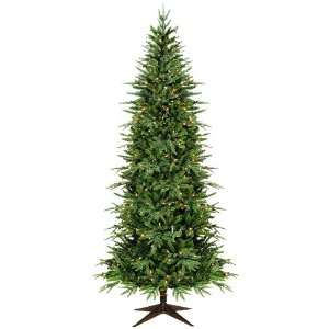 Fir Christmas Tree with Clear color Non Stop Lights Home & Kitchen