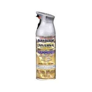 12 Oz Hammered Silver Universal Spray Paint 245219 [Set of