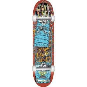 Baker Lenoce Super Jack Complete Skateboard   8.19 W/Raw