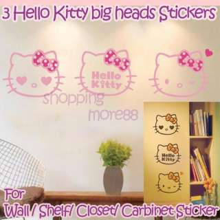 Hello Kitty Cute Wall Sticker Home Decor 30x7 u8i5
