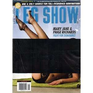 LEG SHOW MAGAZINE JANUARY 2010: LEG SHOW: Books