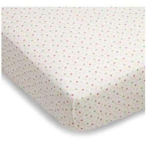 Sumersault Baa Baa Lamby Crib Sheet Pink Baby