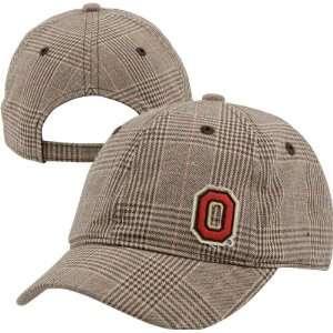 Ohio State Buckeyes Womens Plaid Short Brim Cap Sports