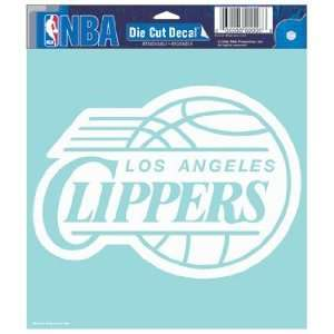 NBA Los Angeles Clippers 8 X 8 Die Cut Decal  Sports