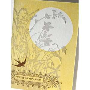 sunset sympathy letterpress greeting cards *NEW* Health