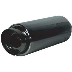 AAA NT 2102 Performance Muffler Universal Omega/black Chrome Tunable