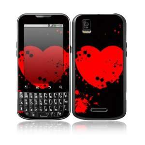 Vampire Love Design Decorative Skin Cover Decal Sticker for Motorola