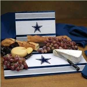 Dallas Cowboys NFL Glass Cutting Board Set Sports