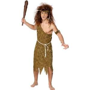 New Mens Caveman/Cave Man Fancy Dress Costume Large Toys & Games