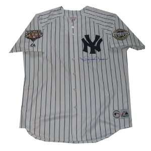 Autographed Mariano Rivera replica home New York Yankees