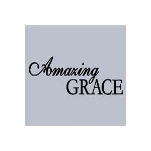 Black Amazing Grace Vinyl Wall Art