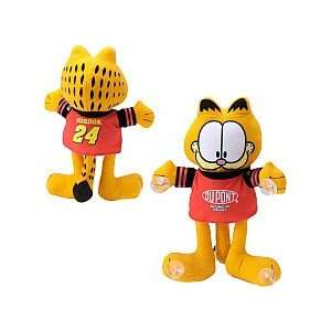 Toy Factory Jeff Gordon Garfield Plush with Suction Cup