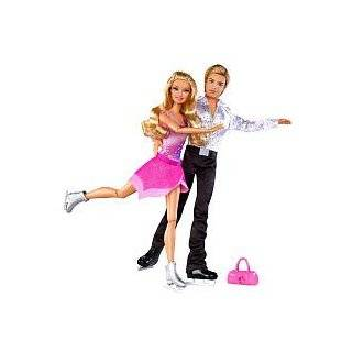 Barbie Olympic USA Ice Skater Doll Toys & Games