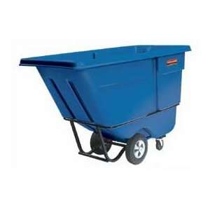 Duty 1/2 Cu. Yd. Garbage & Trash Blue Tilt Truck: Home & Kitchen