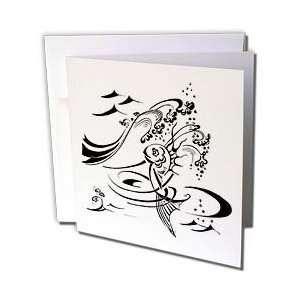 Milas Art Aquatic   Fairy Tail Fish   Greeting Cards 12