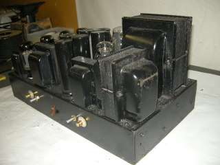 1940S VINTAGE 6L6 PP STEREO TUBE AMPLIFIER.