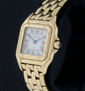 Ladies CARTIER Panther 18k Yellow Gold Watch