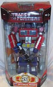 Transformers 20th Anniversary Optimus Prime Black Gun
