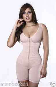 Vedette 124, Post Surgery, Full Body Medium Control Shaper, Mid Thigh