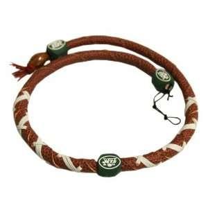 New York Jets NFL Spiral Football Necklace
