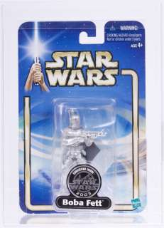 Star Wars 2003 Silver Exclusive Boba Fett Prototype Sample Saga Card