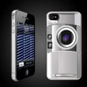 Fun iPhone Hard Case Designs   Camera Look CLEAR Protective iPhone