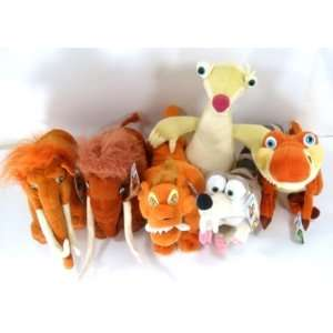 Ice Age 15   20 Plush Set (6 Piece Set) Toys & Games