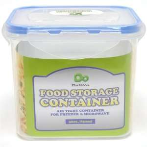 Rectangle Food Storage Container w/Click Lock Lid Case