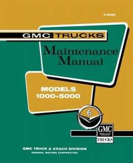 1960 GMC 1500 3500 TRUCK Shop Service Manual Book