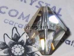 Vintage Swarovski Crystal Bead #5301 24kt Gold Plated #364 14MM 1