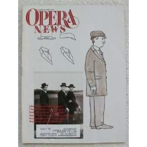 Opera News Magazine. March 16, 1991 Single Issue Magazine