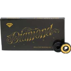 Diamond Supply Diamond Rings Abec 5 Skateboard Bearings