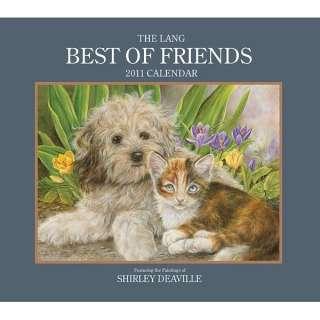 2011 BEST OF FRIENDS Art Calendar by Shirley Deaville