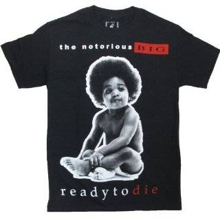 Notorious BIG Ready To Die Black T Shirt