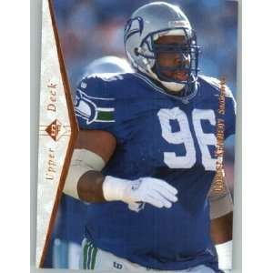 1995 SP #198 Cortez Kennedy   Seattle Seahawks (Football