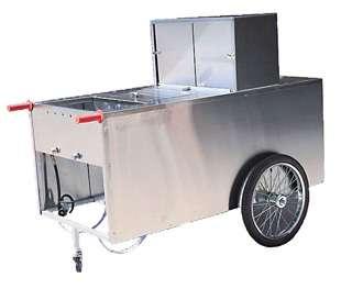Lil Dog Hotdog Vendor Food Catering Cart Vending Concession Stand