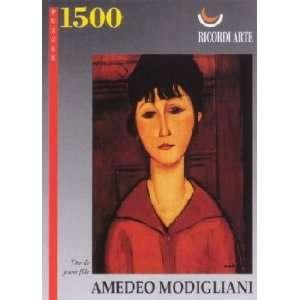 Modigliani Tete De Jeune Fille Jigsaw Puzzle 1500pc Toys