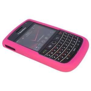 Hot Pink Silicone Soft Skin Case Cover for Blackberry Tour