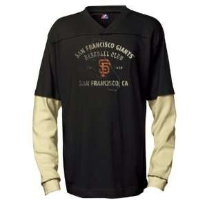 San Francisco Giants Double Play Long Sleeve 2 Fer Shirt