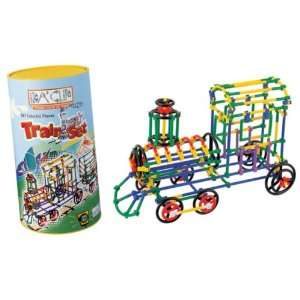 Playthings Ida Clip Building System 587 Piece Train Set Toys & Games